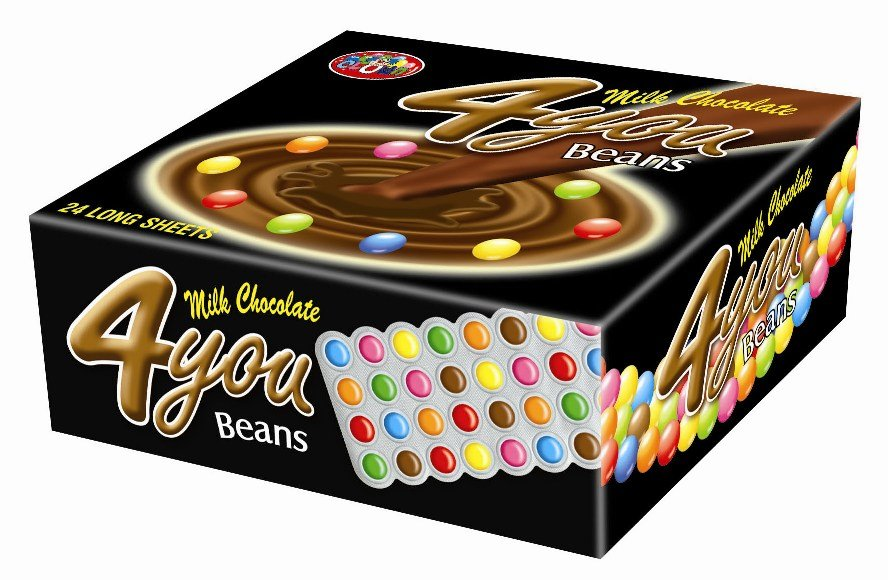 4 You Family Pack Chocolate Beans