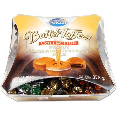 Arcor Peanut-Chocolates: Butter Toffee Collection products ...