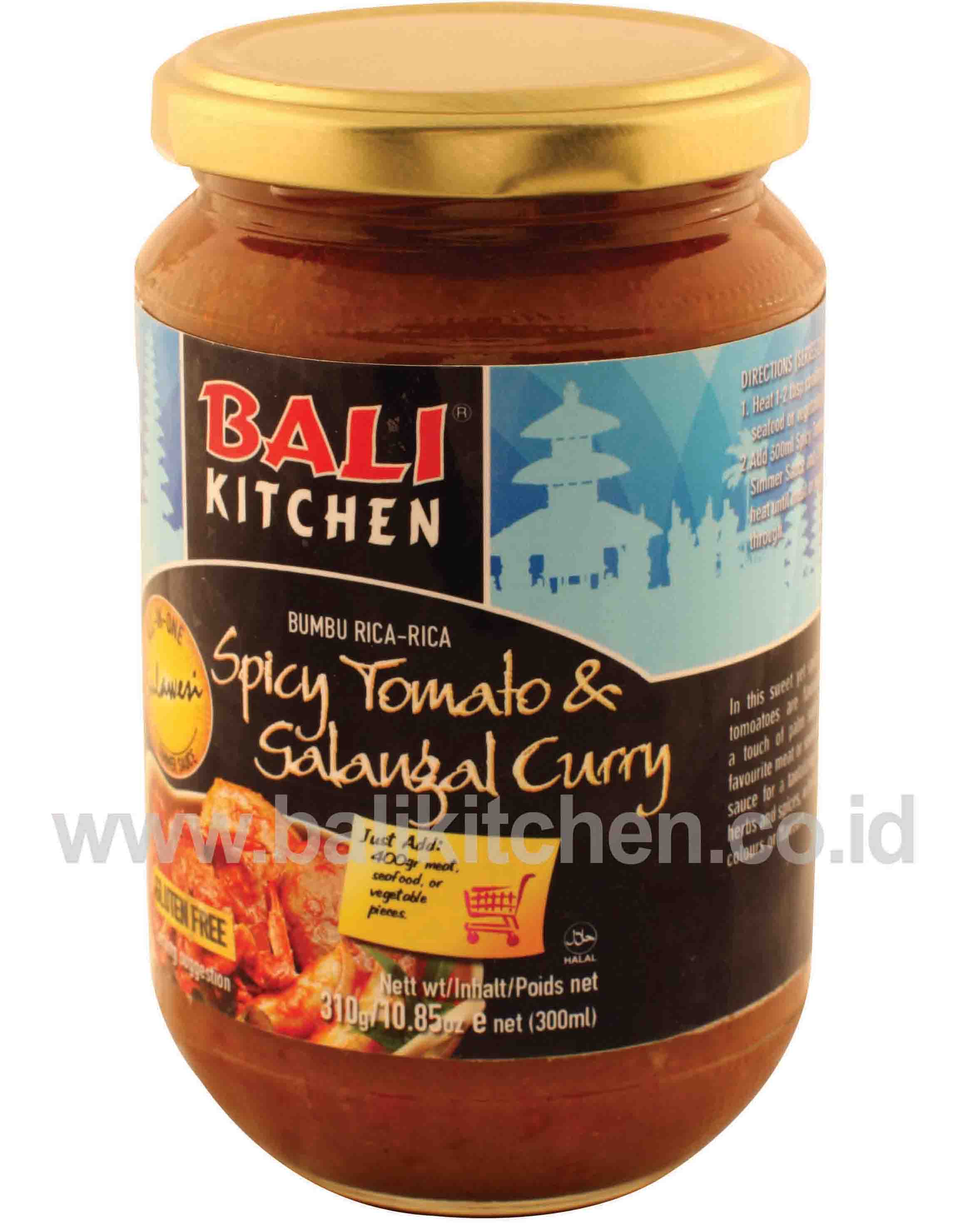 spicy tomato galangal curry 300ml products indonesia