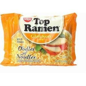 Nissin Top Ramen Oodles of Noodles Chicken Flavor