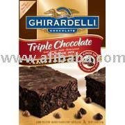 Ghirardelli Brownie Mix, Triple Chocolate