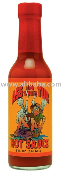 Ass Reaper Hot Sauce with Skull Cap and Cape Chilly Chiles.