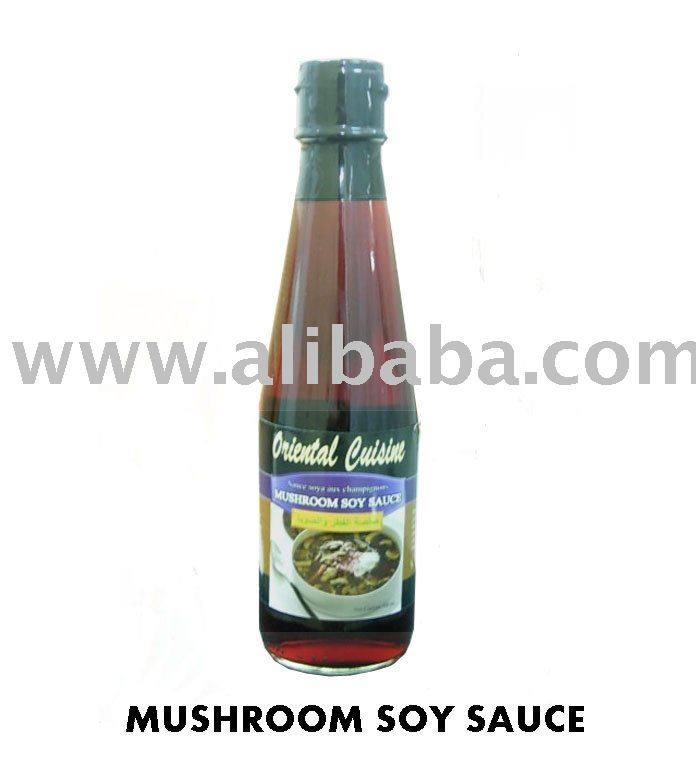 Mushroom soy sauce