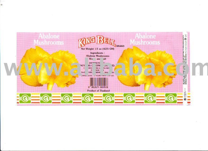 Abalone Mushroom in Brine 425 gms.