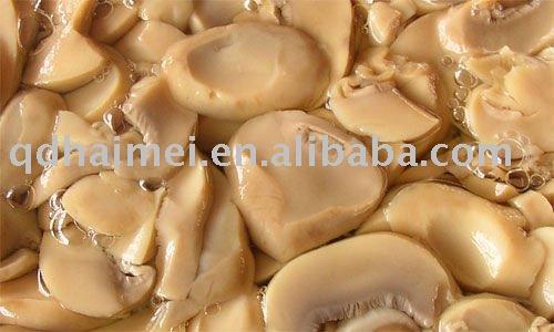 canned mushroom in  oil