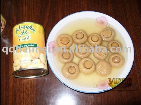 canned mushrooms in oil