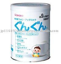WAKODO Follow-Up Milk Gun Gun 850g  (Japan-made baby/infant milk powder)
