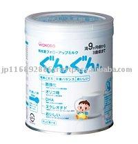 WAKODO Follow-Up Milk Gun Gun 300g (Japan-made baby/infant milk powder)