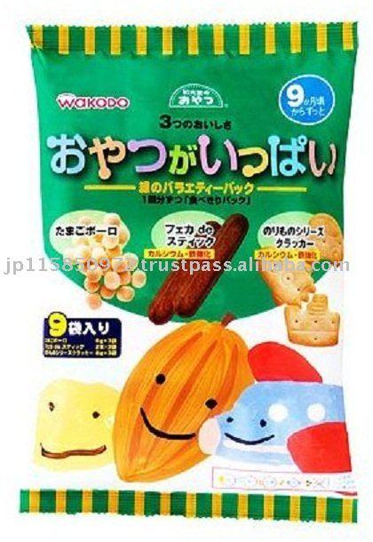 wakodo Green Variety Pack