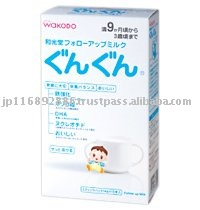 WAKODO  Follow-Up Milk Gun Gun Stick Pack (14g X 10 sachets) (Japan-made  baby  / infant milk powder)