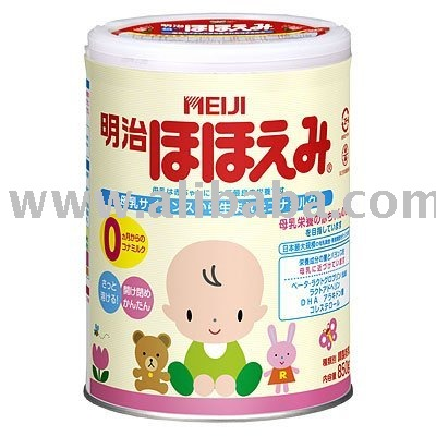 MEIJI HOHOEMI BABY MILK POWDER 0-9 MONTHS (850g) JAPAN