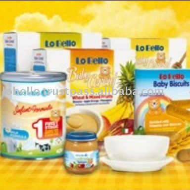 Italy LO BELLO Infant Rice Milk Production