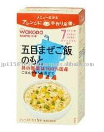 wakodo The stock of a Japanese pilaf