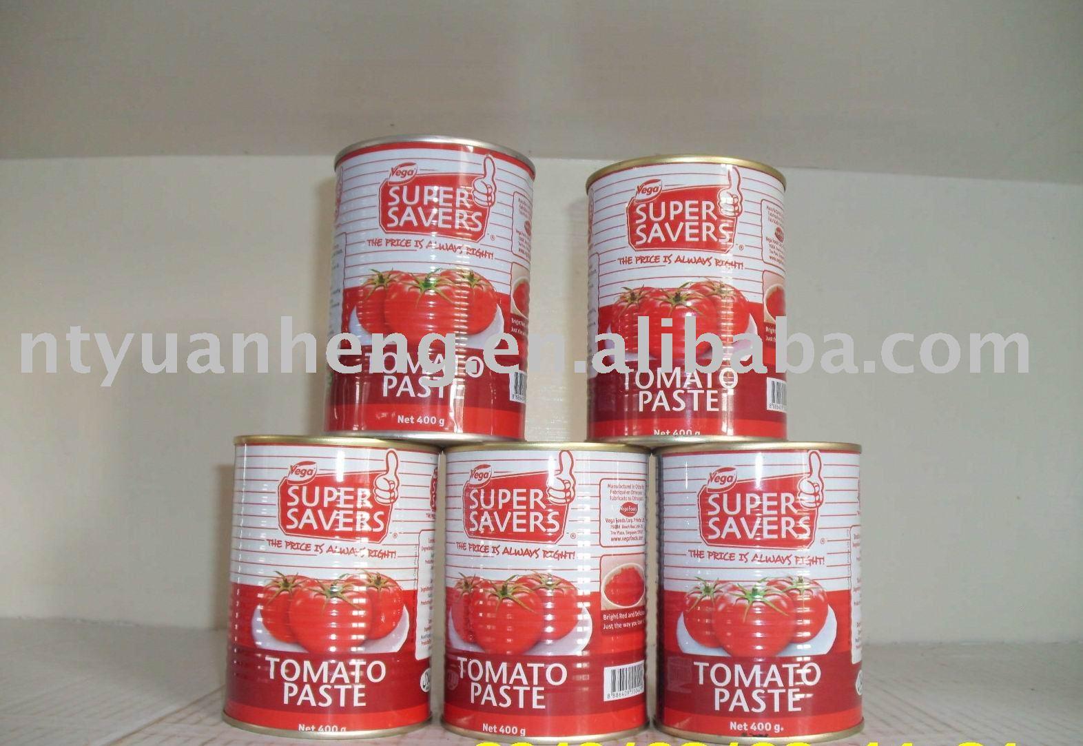 tomato puree 400g