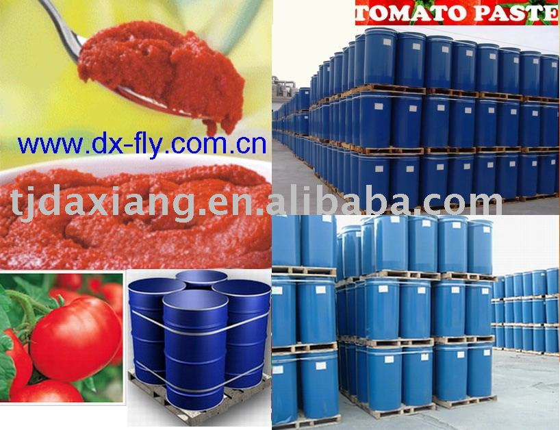 drums tomato paste (high quality and best price tomato paste brix:28-30%,cold breake,in drum )