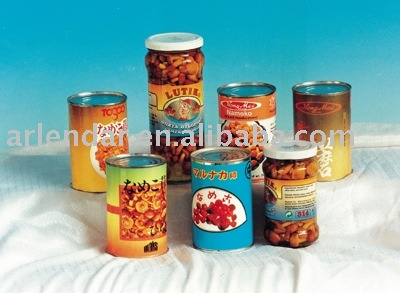 All kinds canned fruit and vegetable