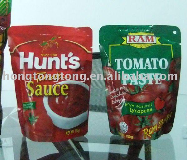 70g sachet tomato paste with ISO9001