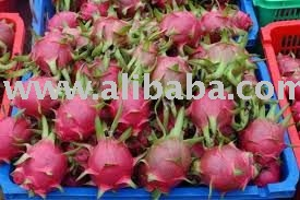 Fresh Dragon Fruit  and other fresh fruits on sale