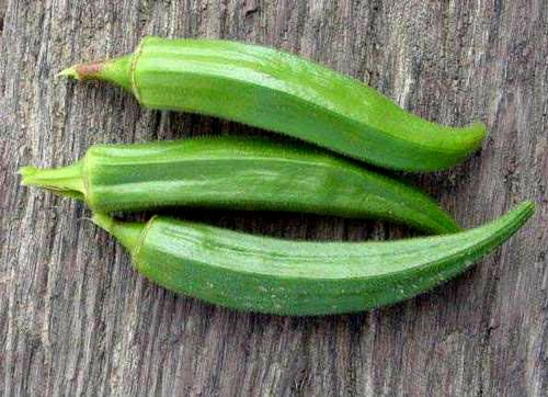 Fresh and Dry Okra