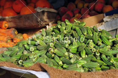 fresh and dry powdered okra for sale