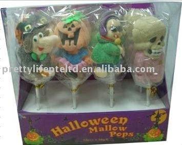 Halloween Marshmallow pop