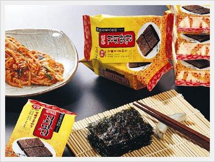 Kimchi-Gim (Kimchi Flavored Seasoned Seaweed Laver)