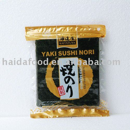 Yaki Nori Roasted Seaweed (Gold)