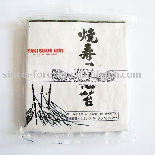 Yaki nori, sushi nori