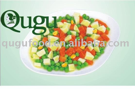 canned mixed vegetables/ canned vegetable