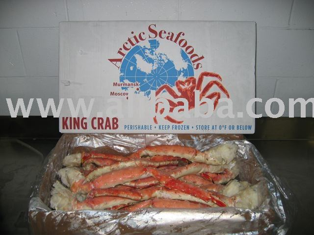 Red King Crab Leg & Claw pack