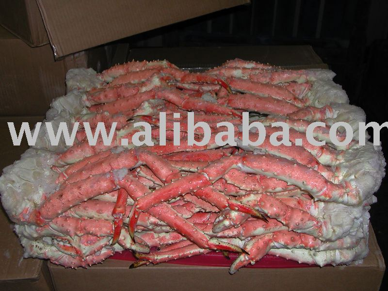 Red King Crab frozen sections
