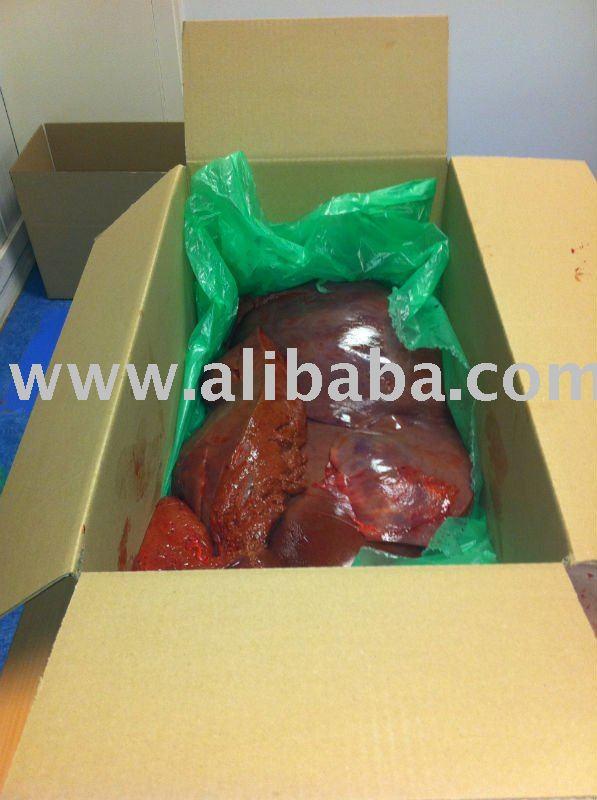 Frozen Beef Liver