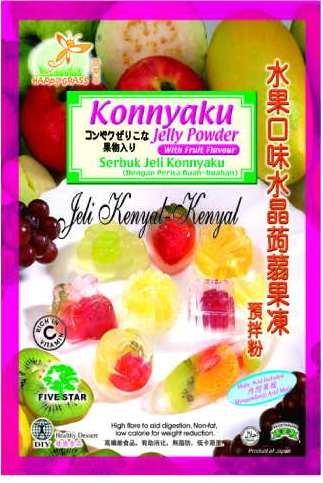 Konnyaku   Jelly   Powder  with Fruit Flavour