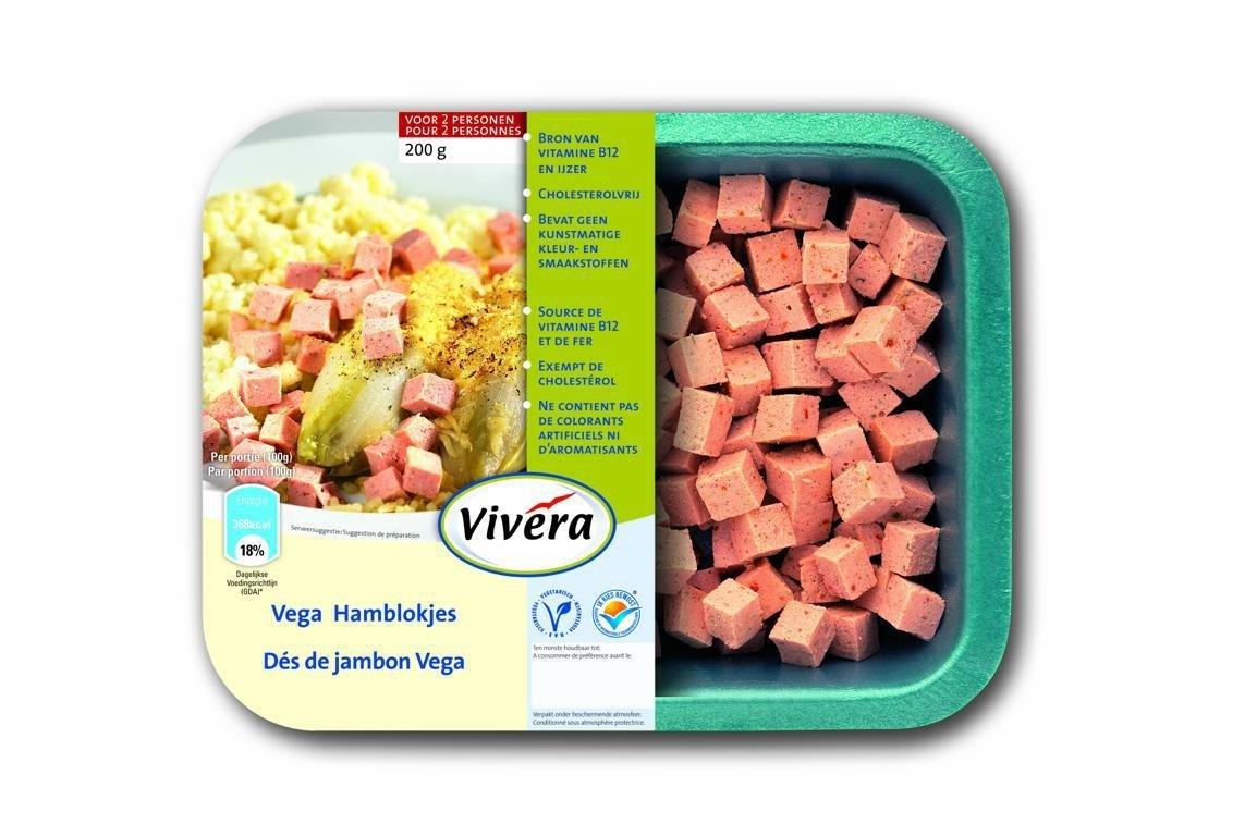 Vivera Vegetarian Ham Cubes