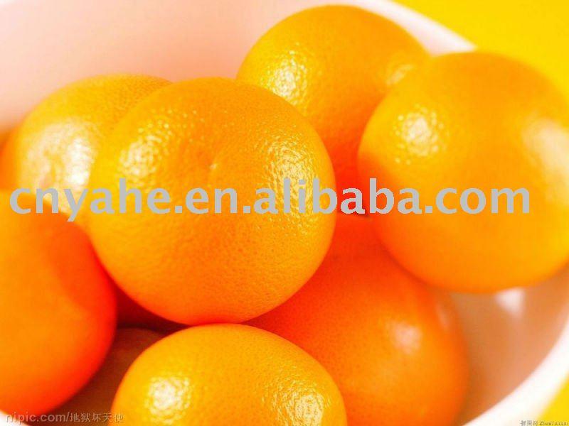 Hot sweet orange flavour