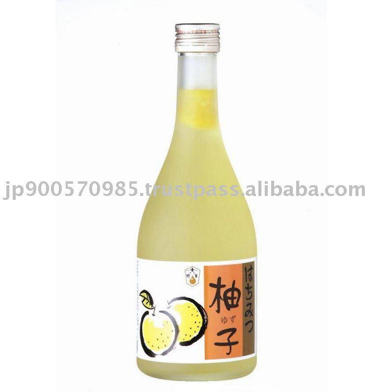 Yuzu orange honey juice products japan yuzu orange honey for Wine and orange juice name
