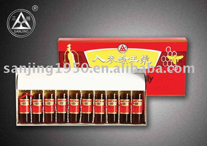 health food-----ginseng royal jelly oral liquid