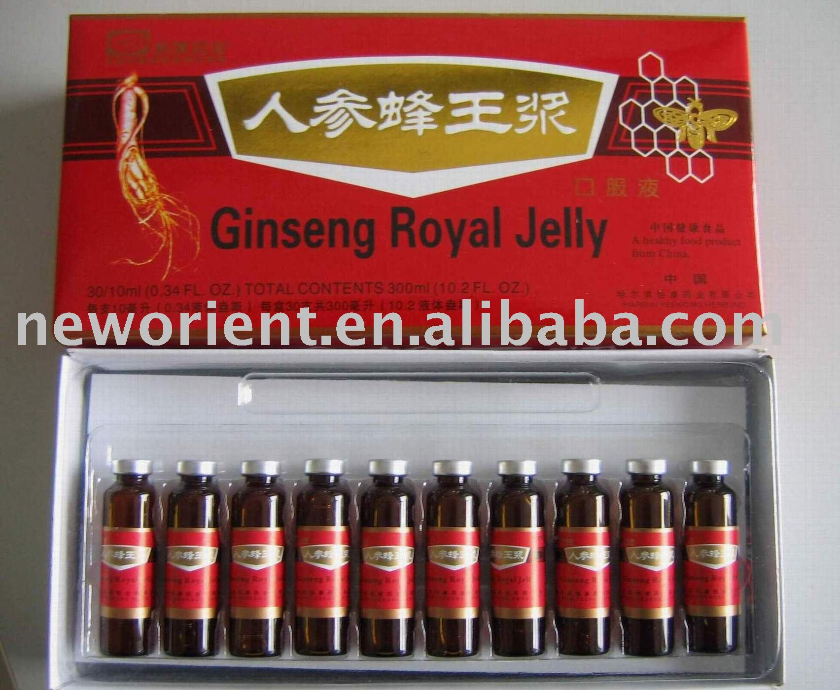 Halal Ginseng Royal Jelly