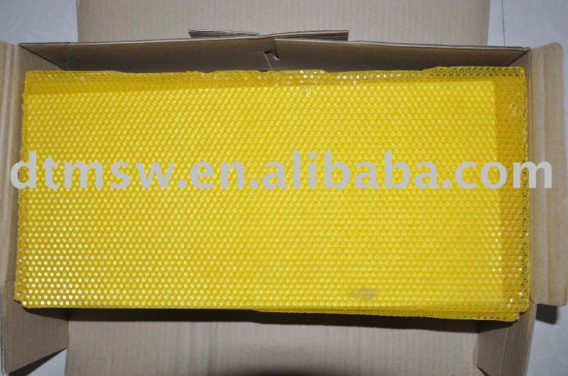 beeswax sheet  comb foundation