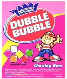 Bubble Assorted Fruit Chicle Gum