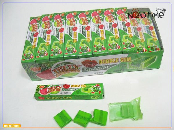 jelly bubble gum(bubble gum with jelly)
