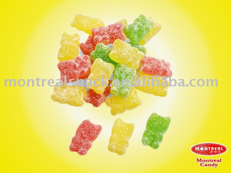 sugar gummy bear