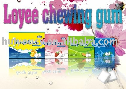 Loyee Chewing Gum-herbal plant, prevent tooth decay