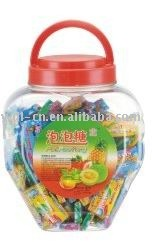 Tattoo bubble gum in small heart shaped jar (confectionery  chewing gum)