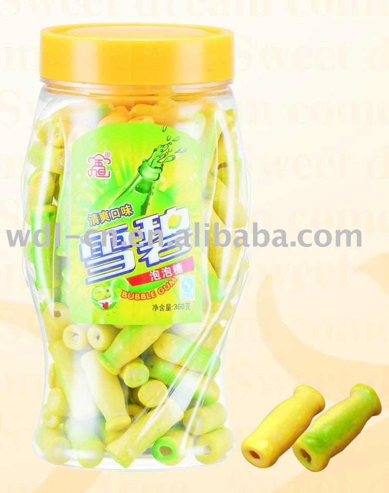 Sprite bubble gum in champion jar(chewing gum  confectionery)