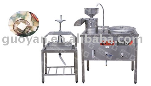 Bean Curd And Soybean Milk Making Machine