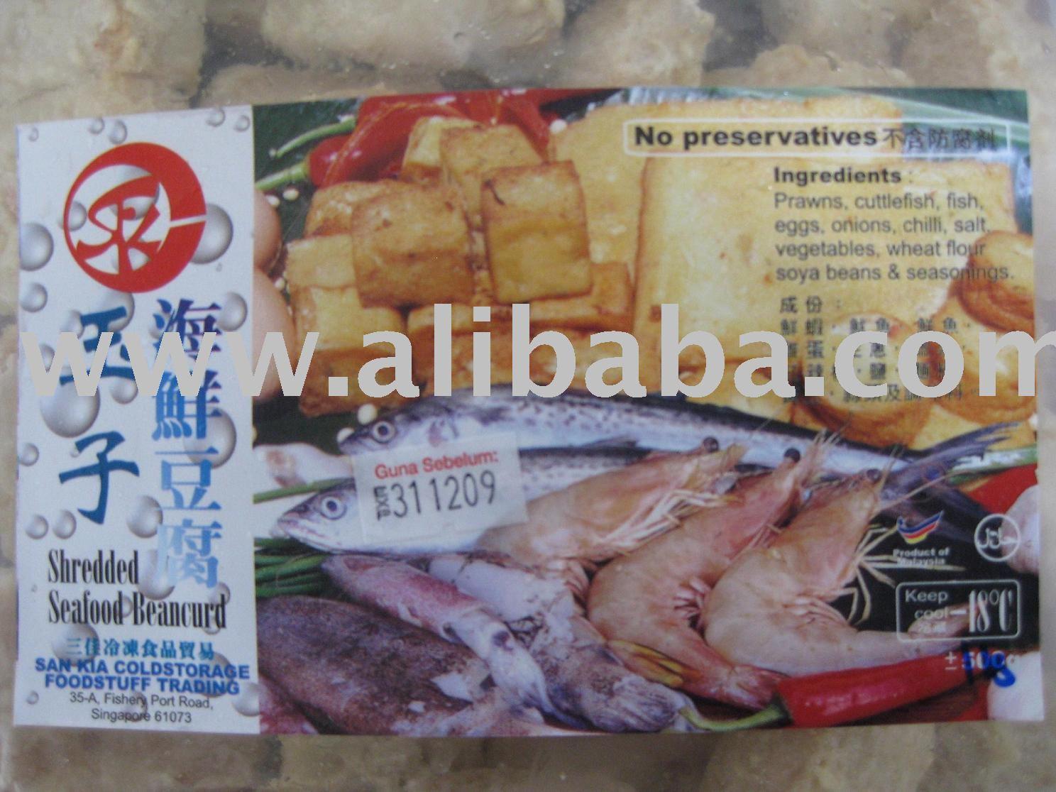 Frozen Seafood Tofu