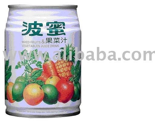 Mixed Fruit & Vegetable Juice
