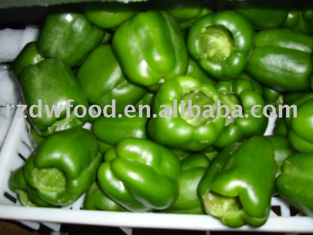 frozen green bell peppers