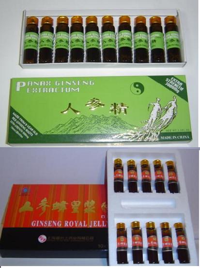 Panax Ginseng Extractum And Ginseng Royal Jelly